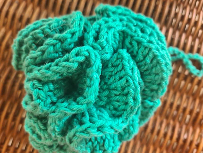 cotton bath pouf ecomauritius.mu