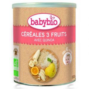 Quinoa cereal - 3 fruits - ecomauritius.mu