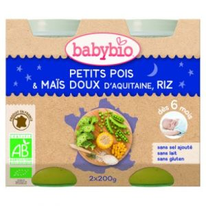 babybio-peas,sweetcornrice-ecomauritius.mu