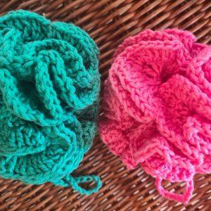 set body poufs crochet 100%cotton ecomauritius.mu
