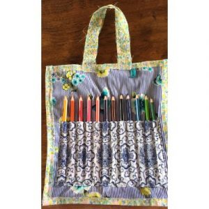 art bag with recycled fabric on ecomauritius.mu