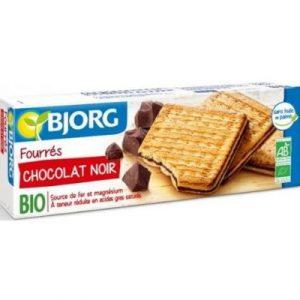 BJORG BISCUIT FOURRE CHOCOLAT NOIR BIO - ecomauritius.mu