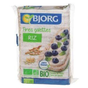 BJORG FINES GALETTES DE RIZ - ecomauritius.mu