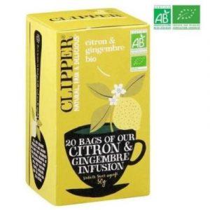 Clipper Infusion Citron Gingembre - ecomauritius.mu