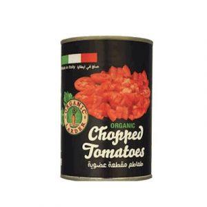 Organic larder chopped tomatoes-ecomauritius.mu