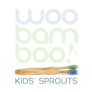 Woobamboo bamboo kids toothbrushes on ecomauritius.mu