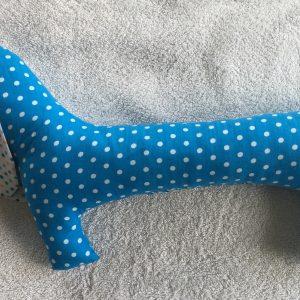 upcycled fabric dog on ecomauritius.mu
