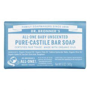 Dr bronner Baby mild soap bar-ecomauritius,.mu