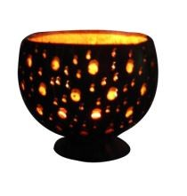 COCONUT CANDLE HOLDER ON ECOMAURITIUS.MU