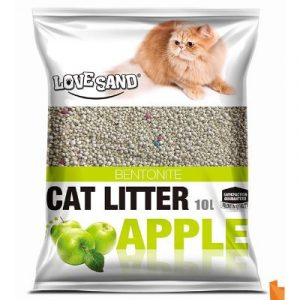 Cat litter on EcoMauritius.mu 10L Apple