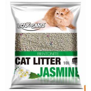 Cat litter on EcoMauritius.mu 10L Jasmin