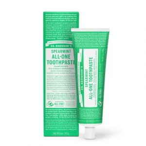 Dr Bronners Spearmint Toothpaste on EcoMauritius.mu