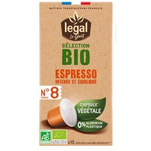 Legal organic compostable capsule coffee on ecomauritius.mu