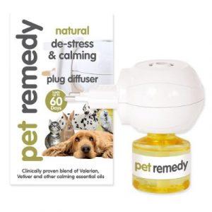 Pet remedy diffuser + refill 40ml on ecomauritius.mu