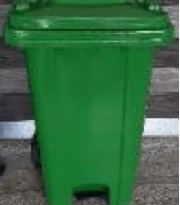 green bin with pedal on ecomauritius.mu