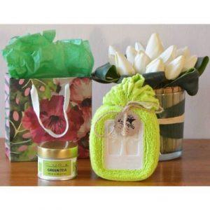 Mothers Day Green Tea gift set on ecomauritius.mu