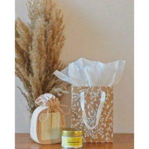 Natural local frangipane gift set on ecomauritius.mu