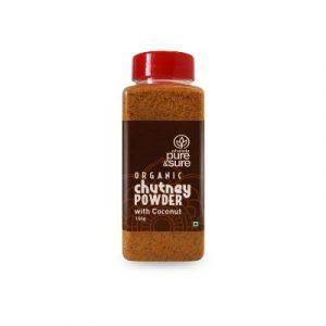 Pure & Sure Chutney Powder Coconut on ecomauritius.mu