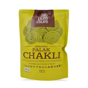Pure&Sure Palak Chakli on ecomauritius.mu