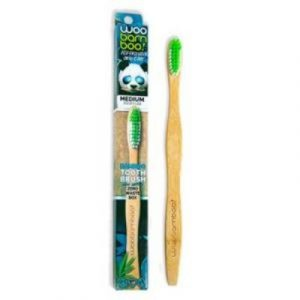 woobamboo adult medium toothbrush on ecomauritius.mu