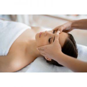 Salt of Palmar head massage on ecomauritius.mu